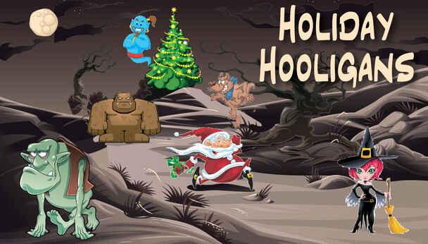 Villains Celebrate Christmas Behind Bars