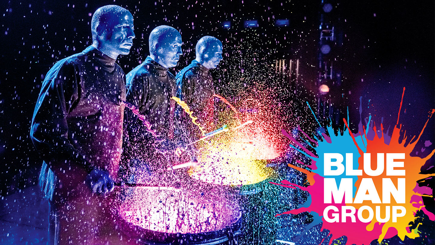 Blue Man Group: Experience the Worldwide Sensation