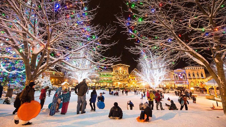 Snow Bus to Leavenworthu0027s Bavarian Ice Festival & Leavenworth Christmas Lighting Festival Seattle Tickets - n/a at ... azcodes.com
