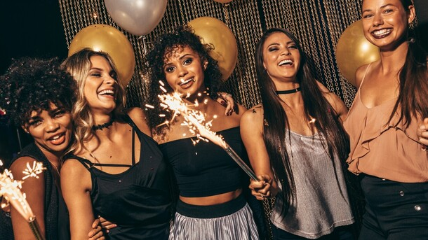 Image result for NYE NYC party photos