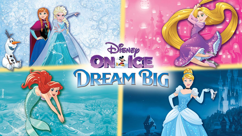 Disney On Ice presents Dream Big Goldstar
