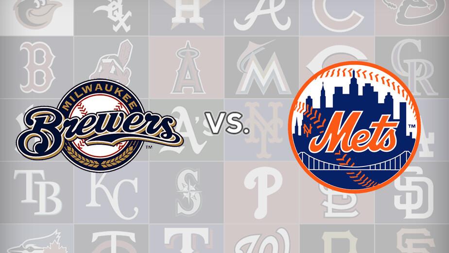 Milwaukee Brewers Vs New York Mets