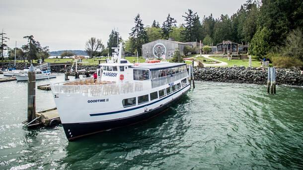 tillicum excursion - Argosy Christmas Ships 2014