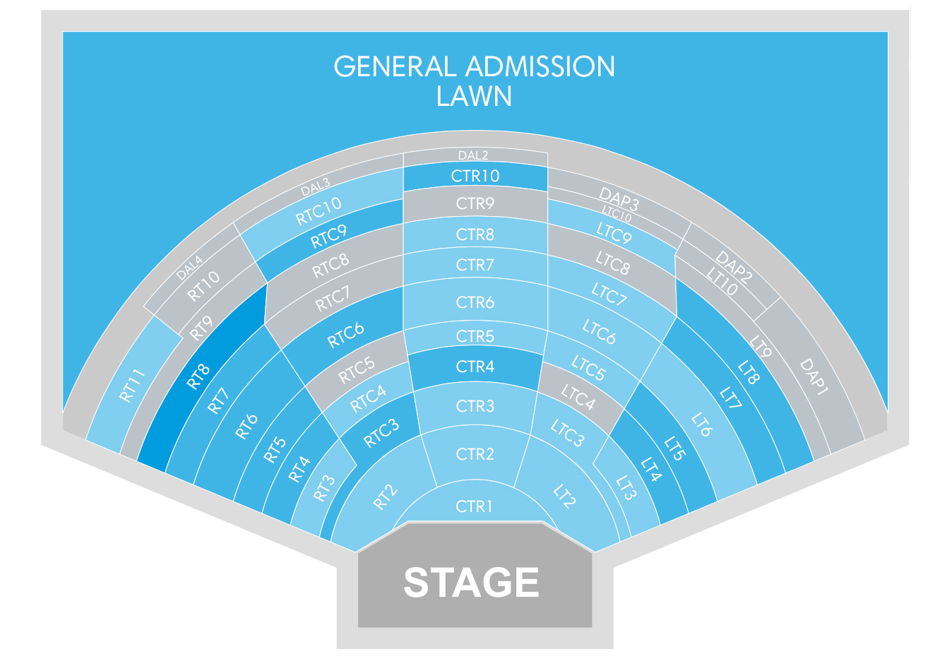 Dte energy music theatre detroit tickets schedule seating charts