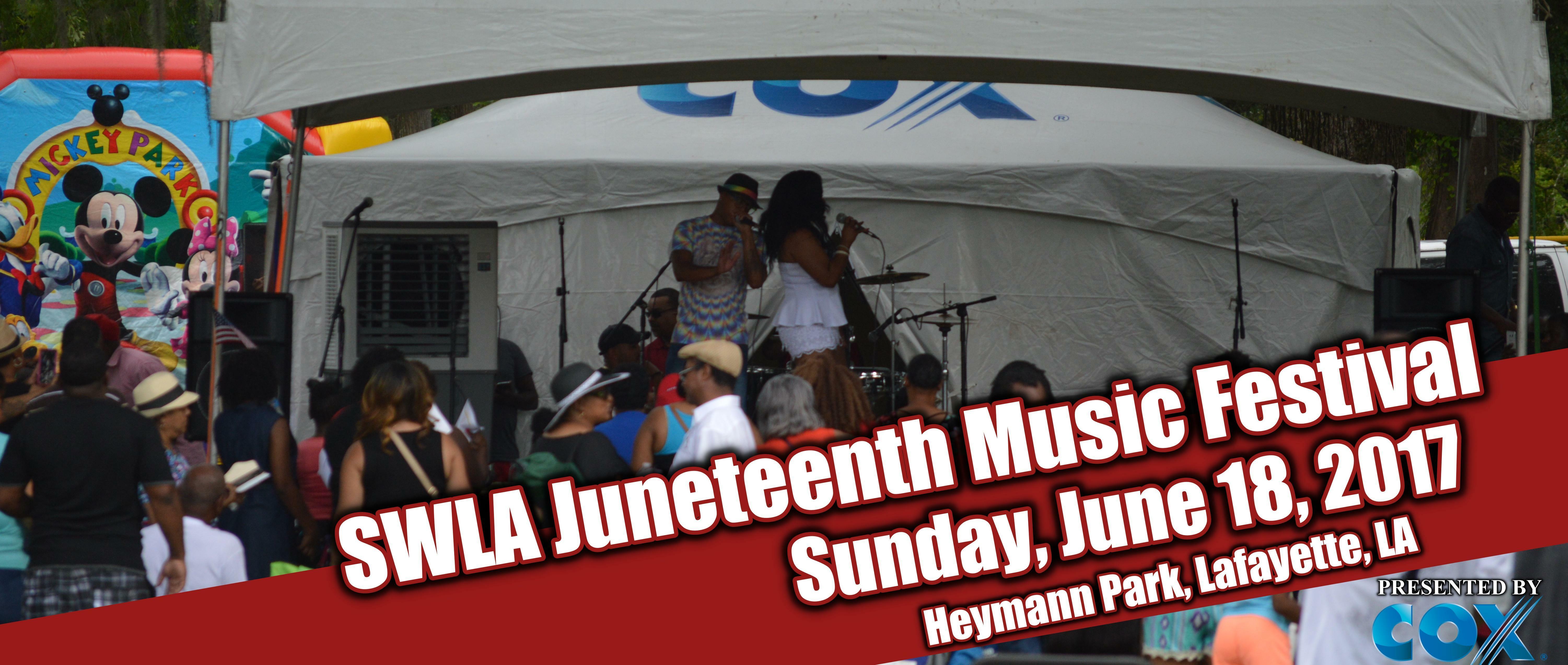 Swla Juneteenth Music Festival New Orleans Tickets N A At Heymann