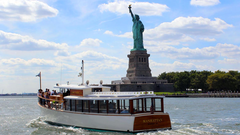 1-Hour Statue of Liberty Cruise | Manhattan, NY | Yacht Manhattan - Pier 62 | July 17, 2017