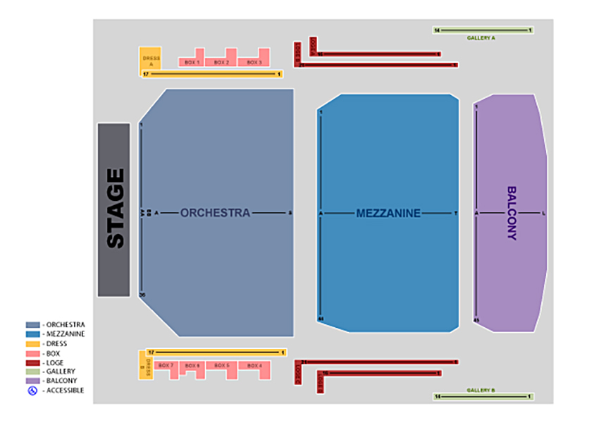 Devos performance hall grand rapids mi tickets schedule seating