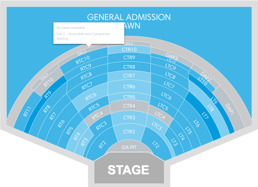 Dte energy music theatre clarkston mi tickets schedule seating