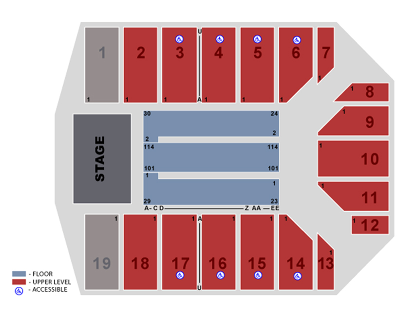 Event Center at San Jose State University San Jose Tickets