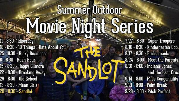 Outdoor movie the sandlot seattle tickets na at peddler brewing outdoor movie the sandlot m4hsunfo