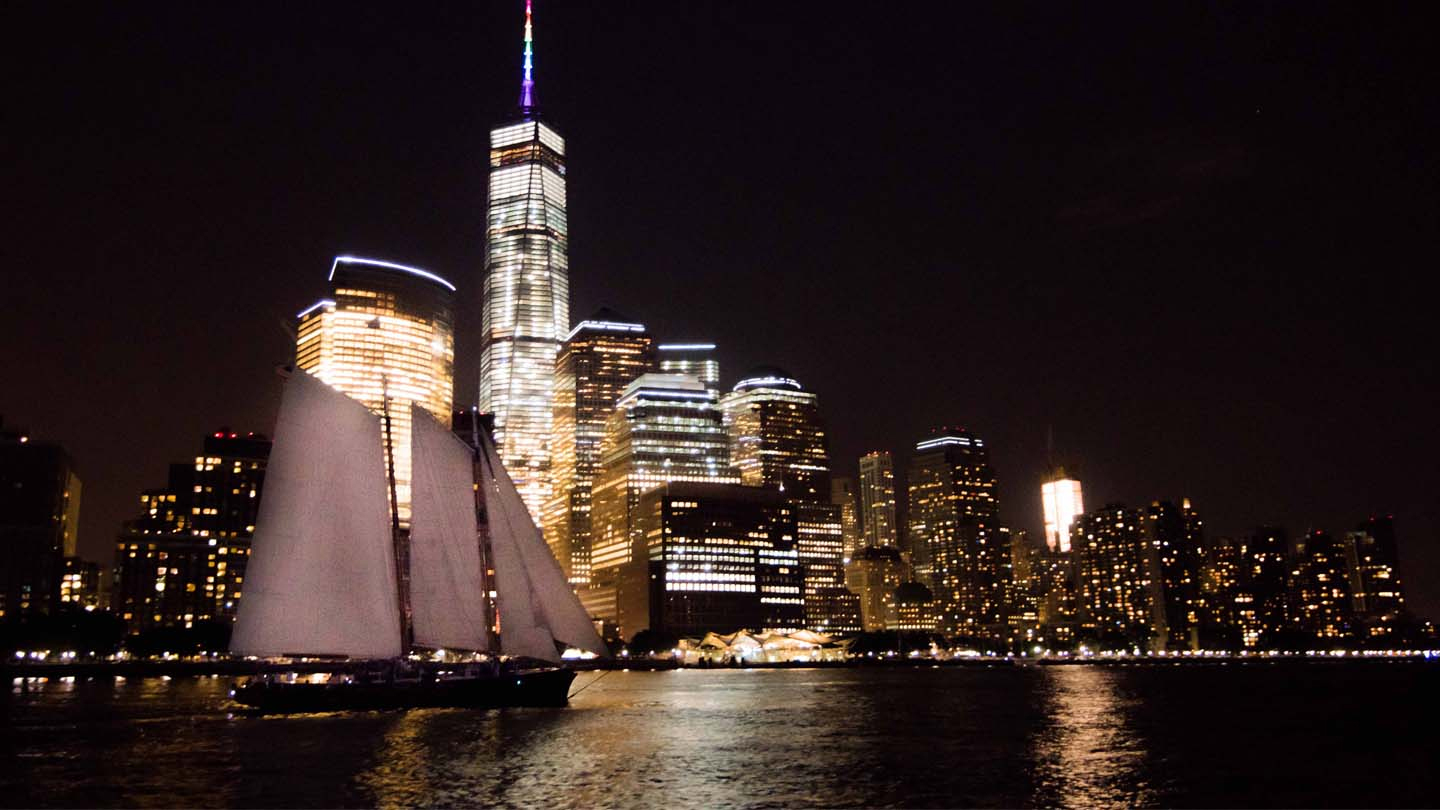 Live Jazz City Lights Sail Aboard The Schooner America 2.0