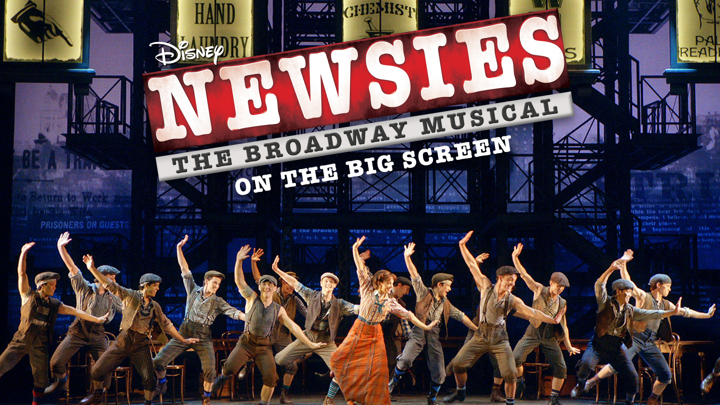 Image result for newsies the broadway musical