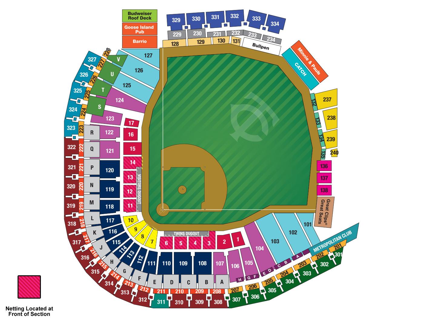 Target field minneapolis st paul tickets schedule seating