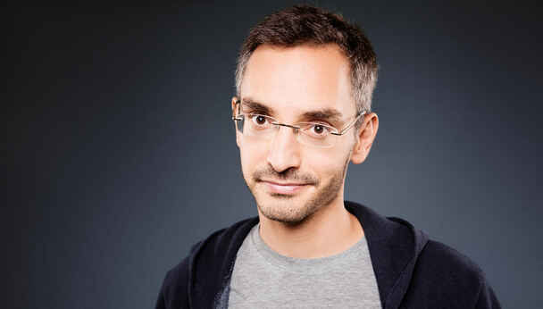Stand-Up Comedian Myq Kaplan (Last Comic Standing)