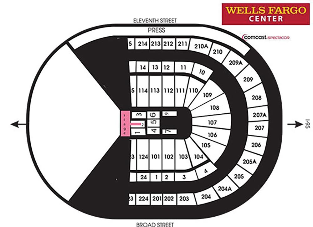 Wells fargo center philadelphia philadelphia tickets schedule