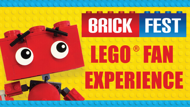 Brick Fest Live: LEGO Experience Tickets
