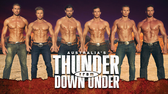 Thunder From Down Under Tickets