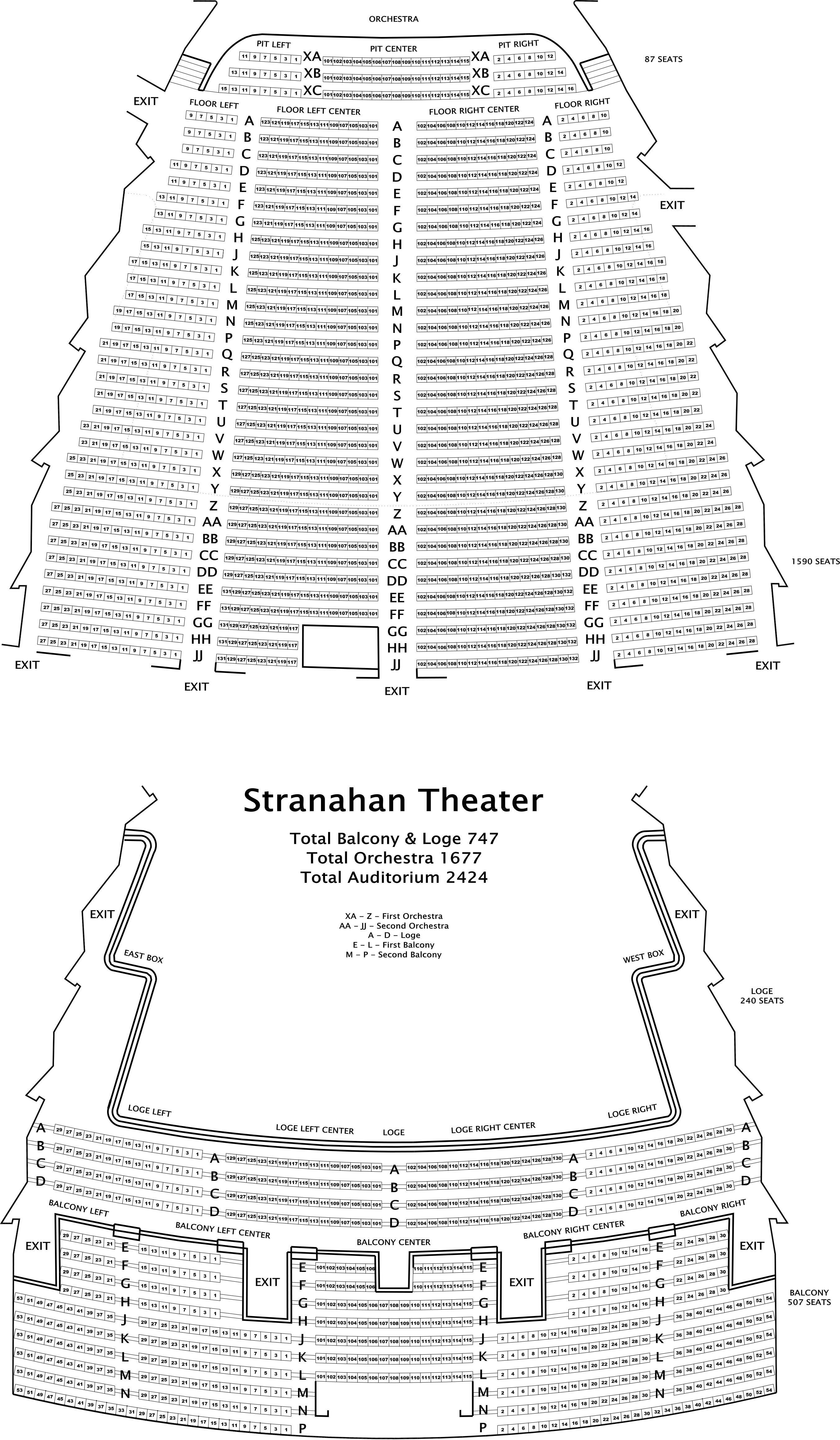 Stranahan theater cleveland tickets schedule seating charts