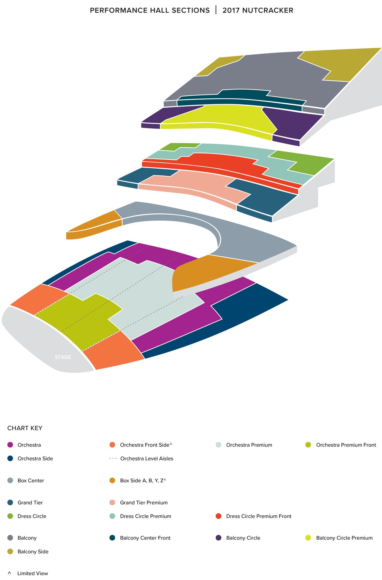 Nutcracker Seating Chart dqseating