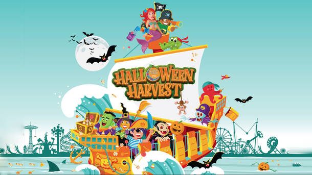 halloween harvest all day unlimited ride wristband at luna park at coney island