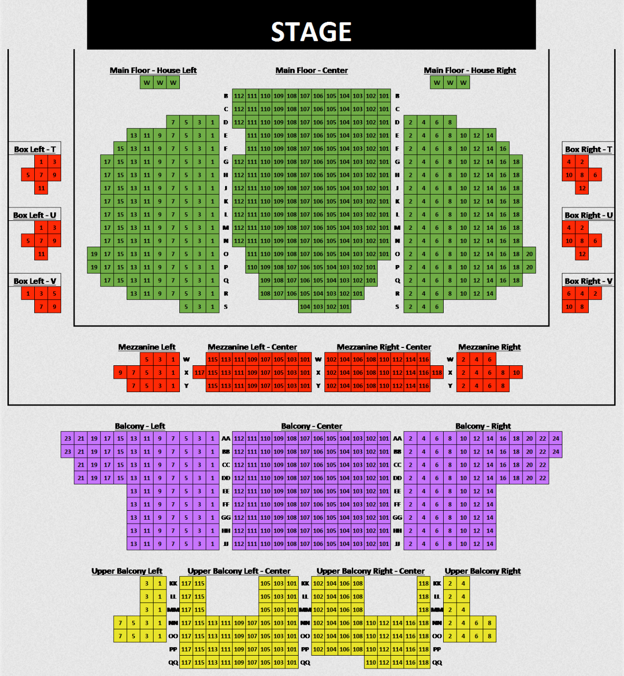 The Orpheum Theatre, Springfield: Tickets, Schedule, Seating Charts ...