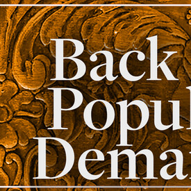 """Back By Popular Demand"""" Series"""