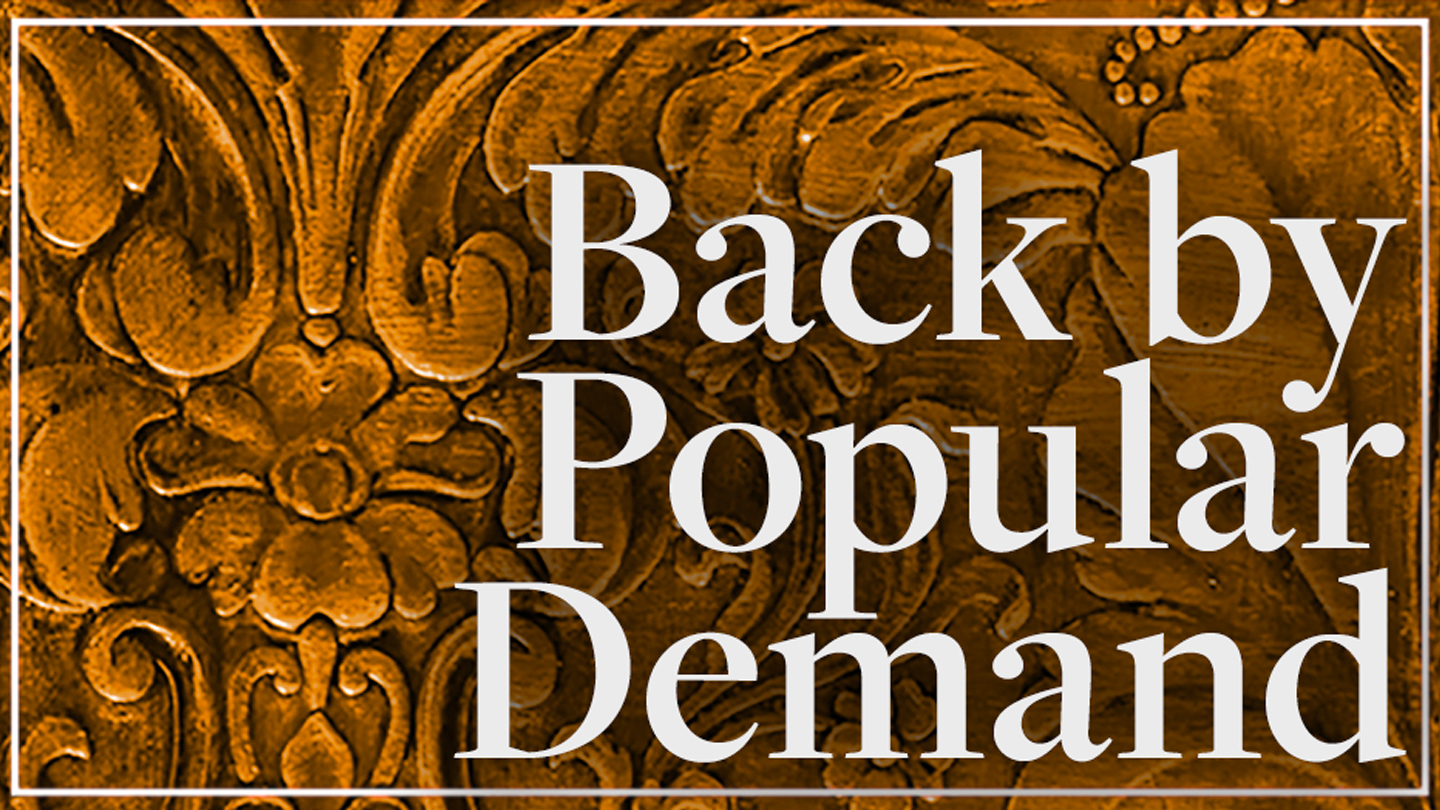 "Feinstein's Favorites at ""Back By Popular Demand"""