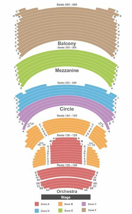 madison overture center seating chart: Overture center milwaukee tickets schedule seating charts