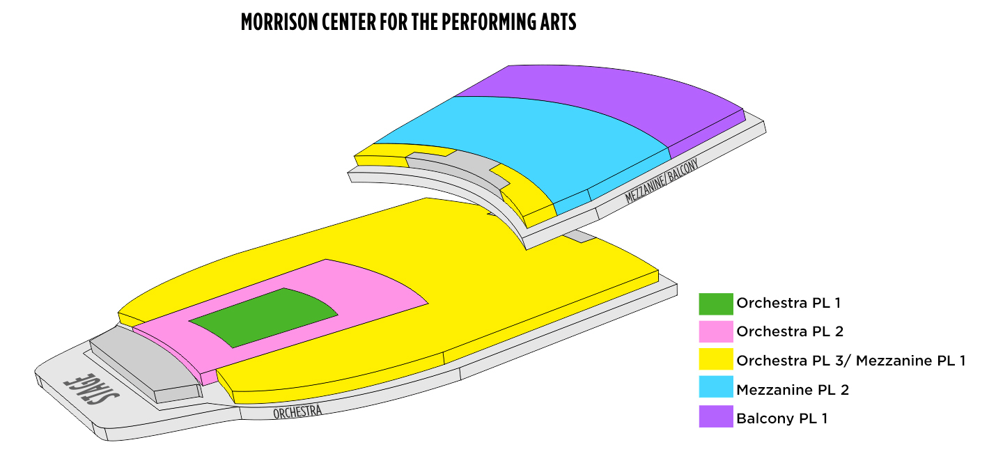 Morrison center for the performing arts boise tickets schedule
