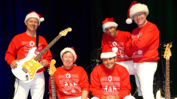 surfin beach boys tribute bands ultimate christmas show - Beach Boys Christmas