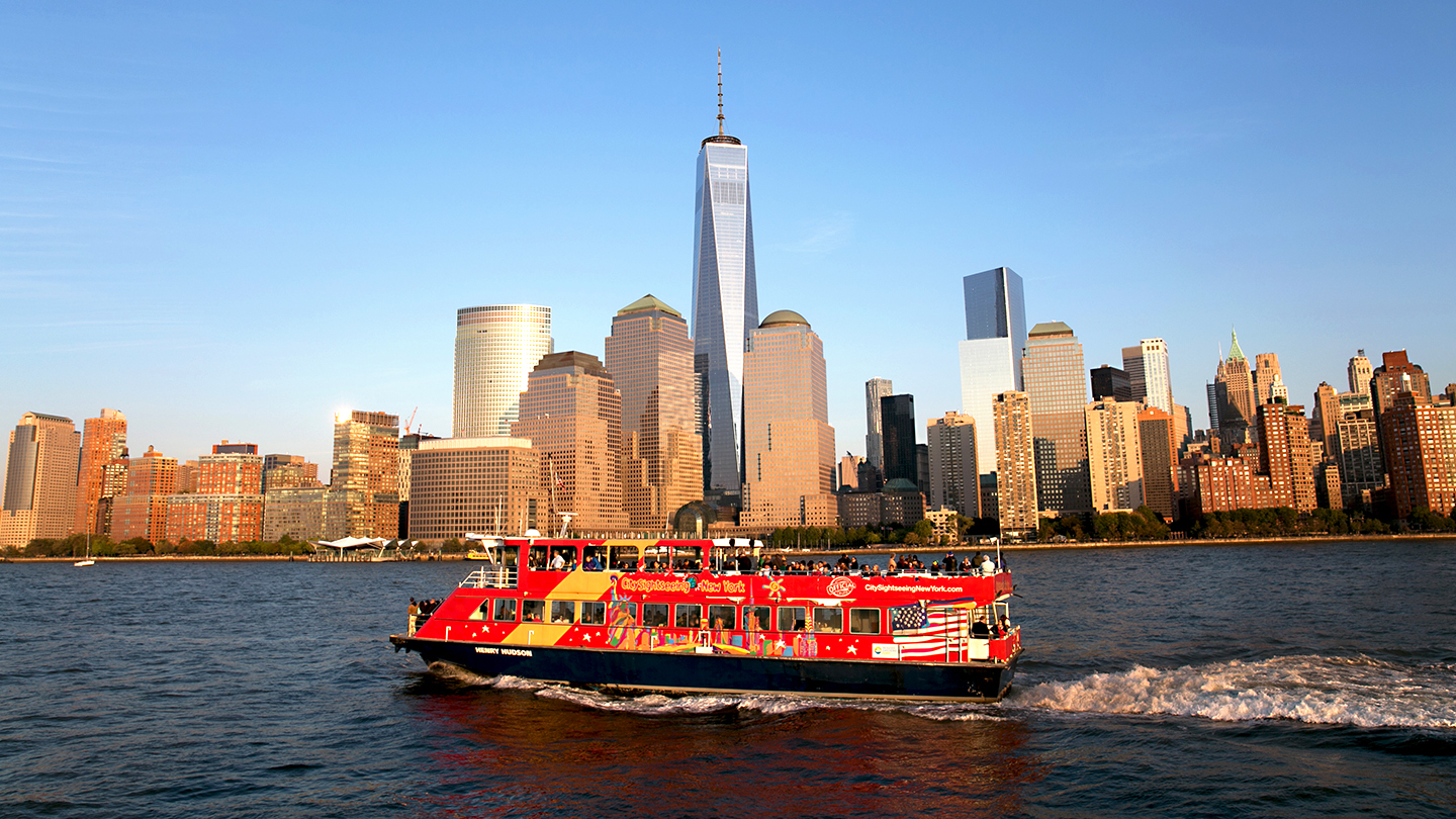 Magnificent Views of NYC: Guided Harbor Cruise