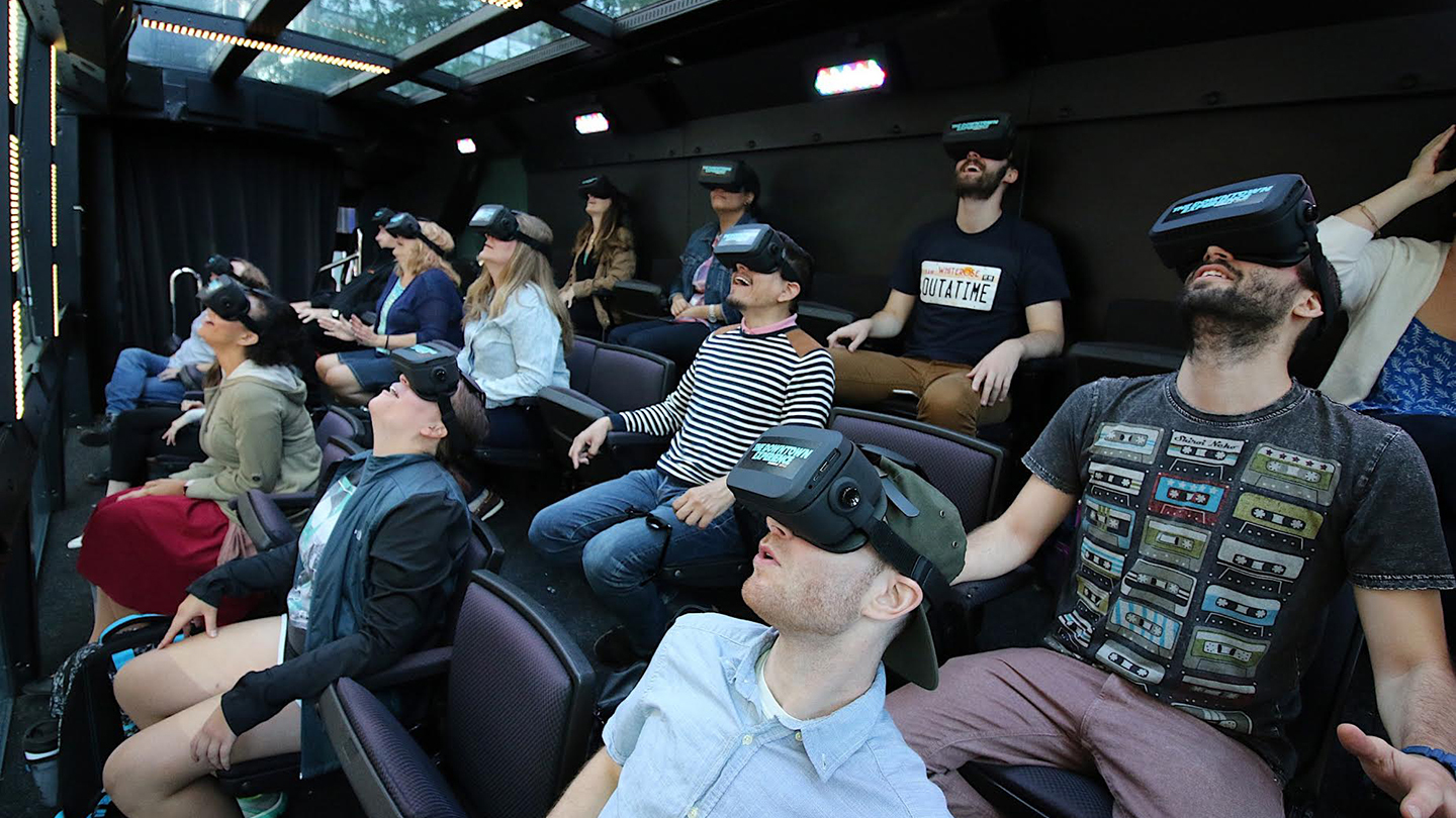 """The Ride"" Combines VR, Theater, Video & More in Thrilling Downtown Bus Tour"