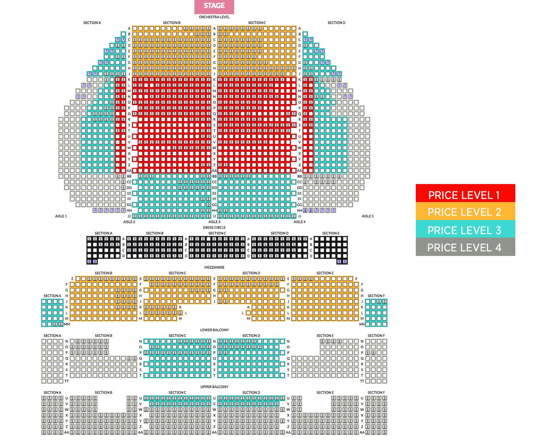Arlene Schnitzer Concert Hall Portland Tickets Schedule Seating - Arlene schnitzer seating