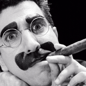 """Frank Ferrante in """"An Evening with Groucho"""