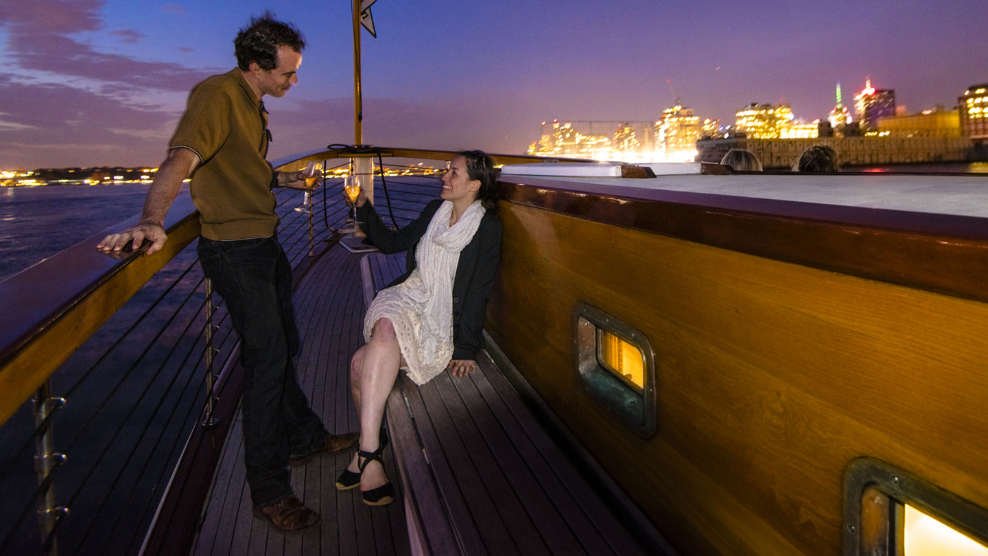 Romantic Valentine's Day Champagne Cruise through NYC