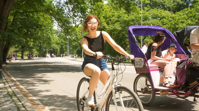 Tour Central Park by Bike