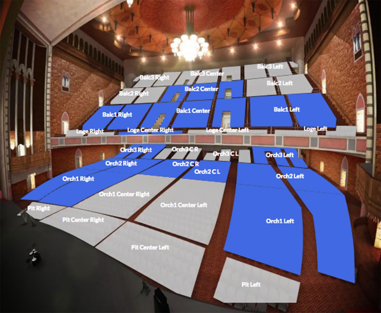 Shrine auditorium los angeles ca tickets schedule seating