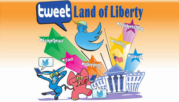 Tweet Land of Liberty: Political Comedy Benefit