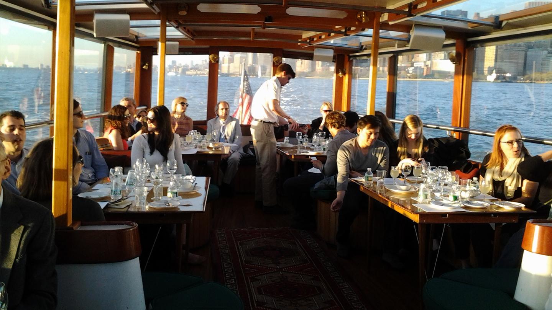 Wine & Cheese Tasting Cruise on the Yacht Manhattan