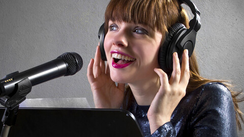 """Getting Paid to Talk: An Introduction to Voice Over"""