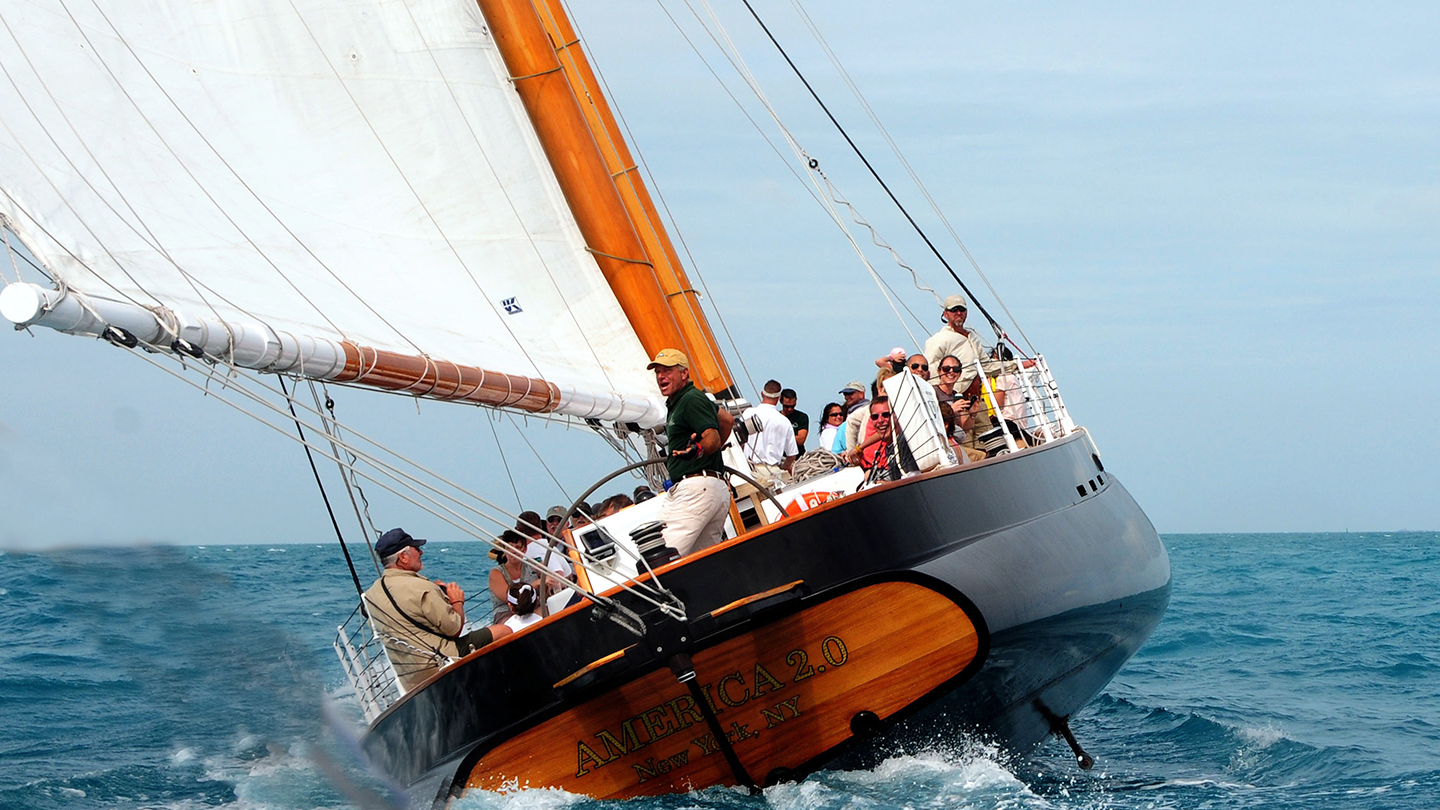Cruise the Harbor on a Classic Schooner
