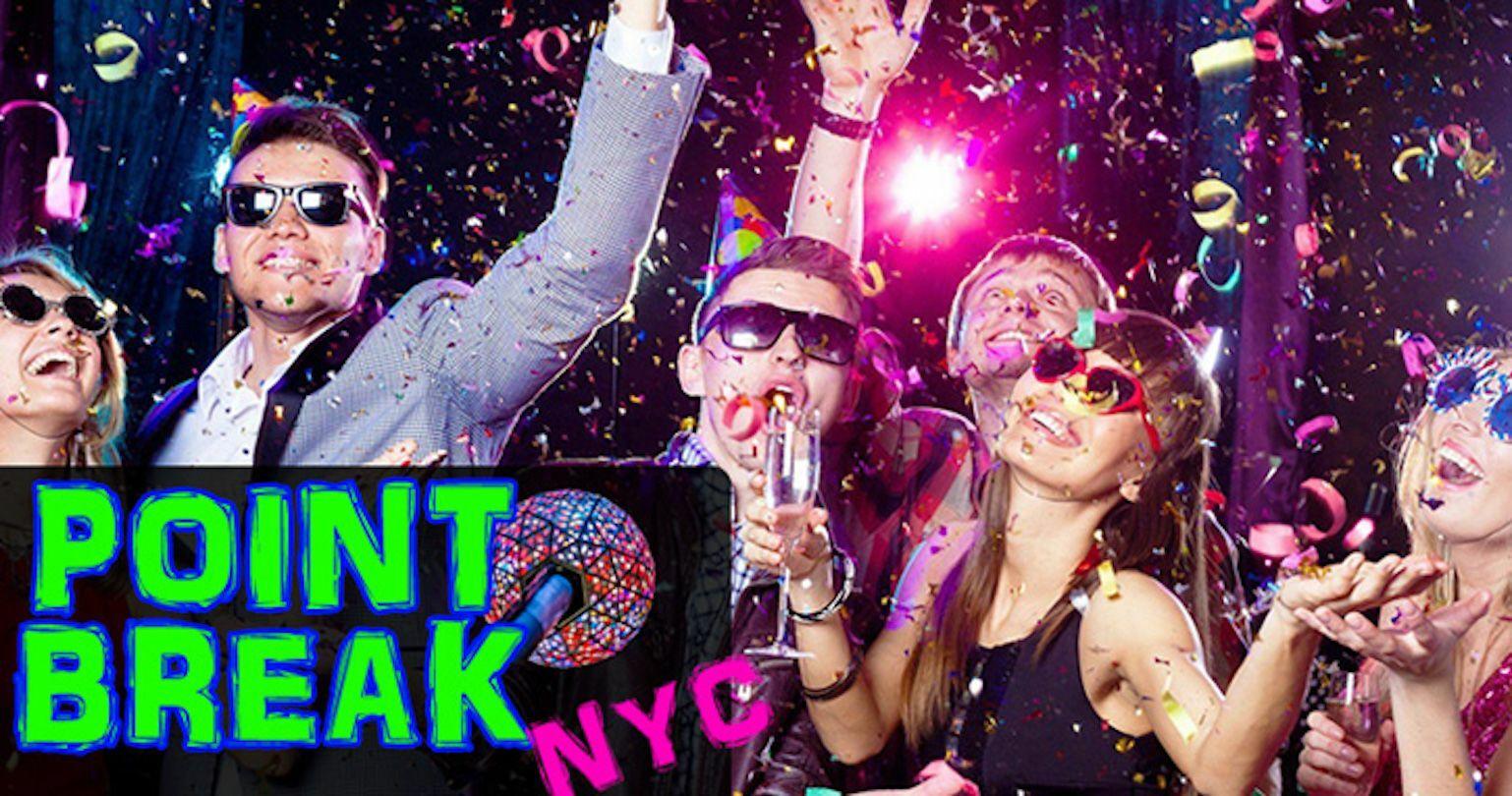 NYE Mega-Party at Point Break Times Square