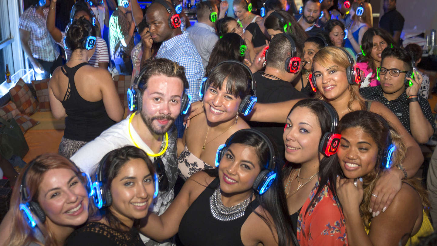 VIP Rooftop Silent Disco Party