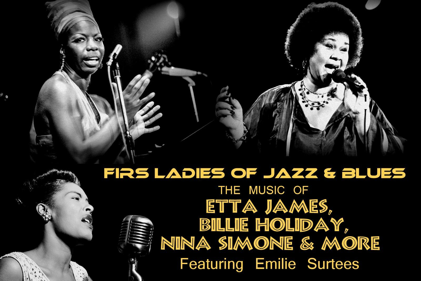 Celebrate the First Ladies of Jazz & Blues