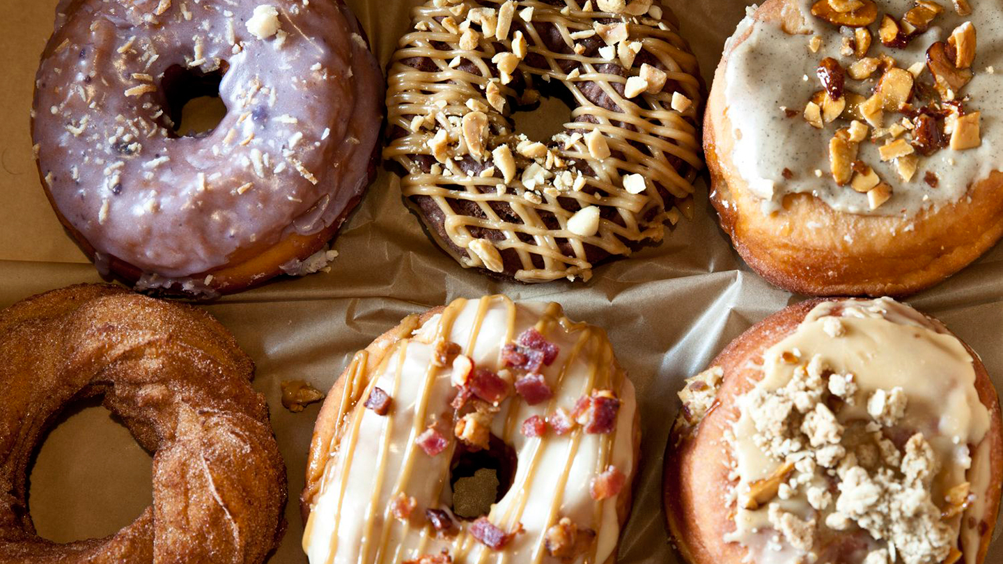 Whiskey & Whiskey-Infused Donut Tasting
