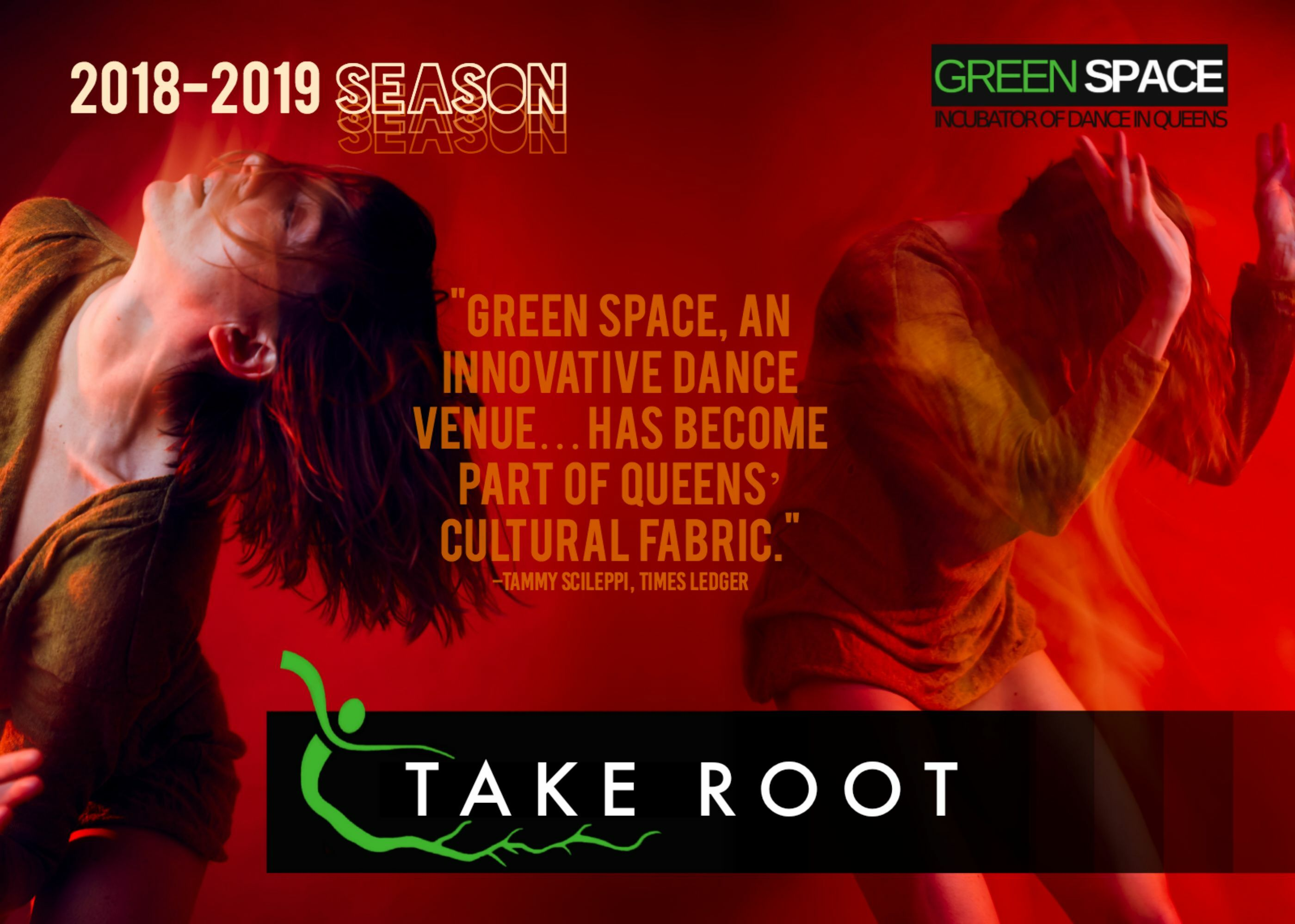 """Split Bill Dance Series, Take Root at Green Space"""