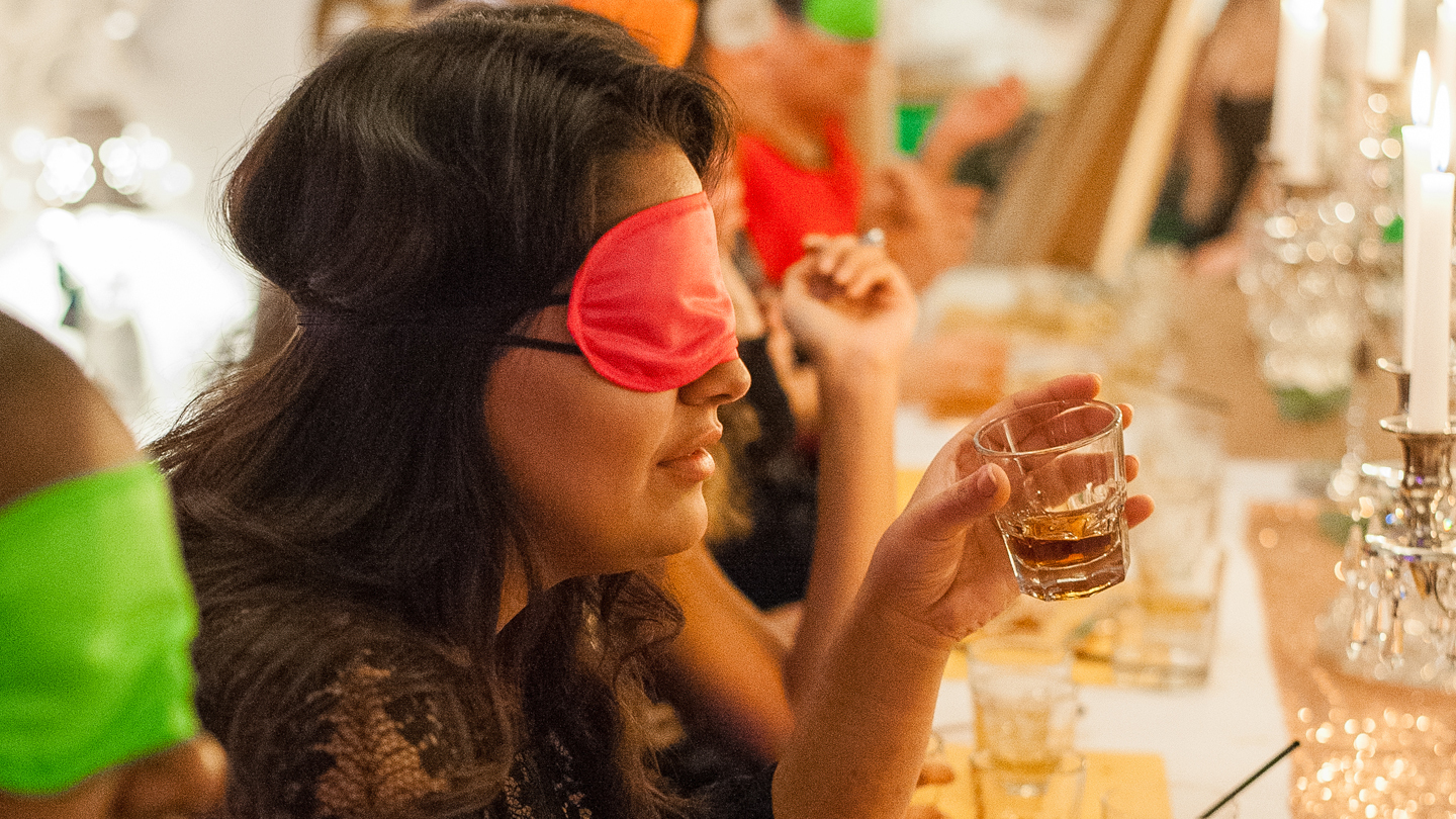 """Whiskey In the Dark"": Multi-Sensory Tasting"