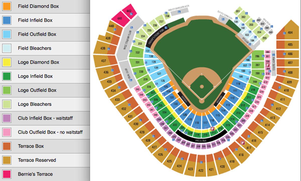 Miller park milwaukee tickets schedule seating charts goldstar