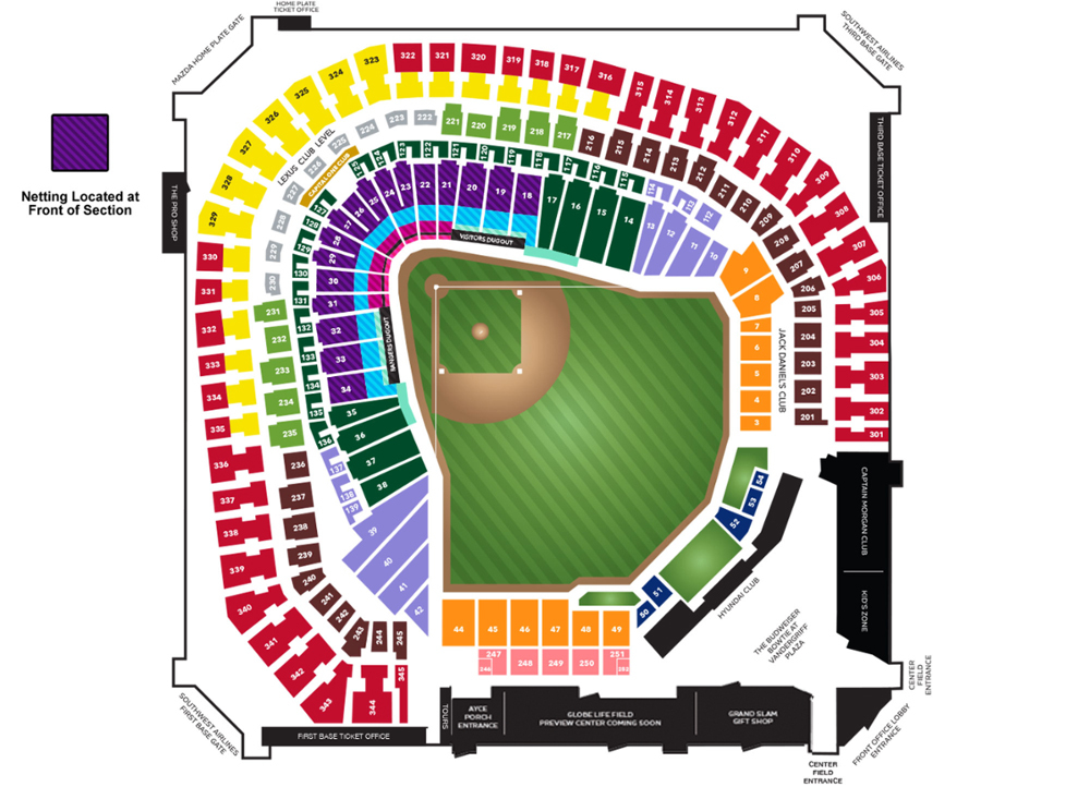 Globe life park dallas fort worth tickets schedule seating
