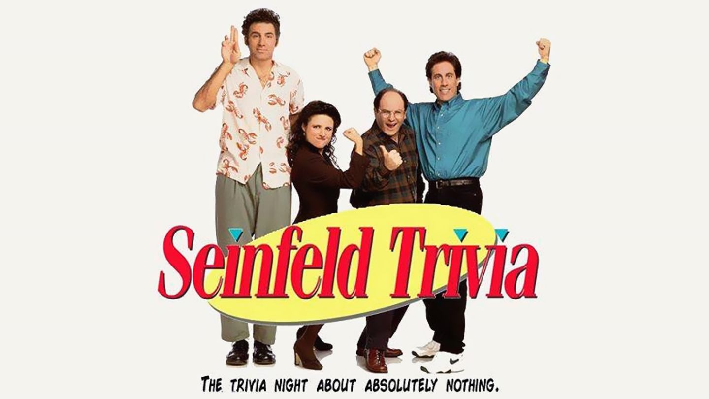 Seinfeld Trivia: It's about nothing!